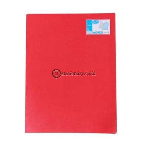 Bantex Display Book A3 Potrait (20 Pockets) #3163 Red - 09 Office Stationery