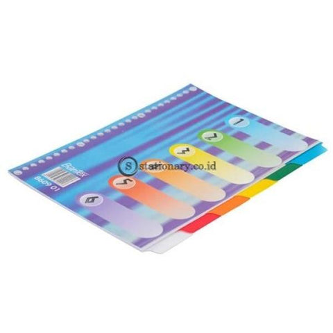 Bantex Divider 26 Holes B5 Blue Lines #8609 01 Office Stationery