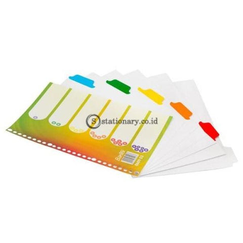 Bantex Divider 26 Holes B5 Yellow #8609 03 Office Stationery