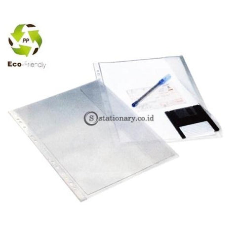 Bantex Document Pocket With Flap 10 Sheets A4 #2090 08 Office Stationery