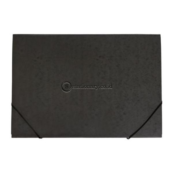 Bantex Document Wallet A2 Black #3458 Office Stationery