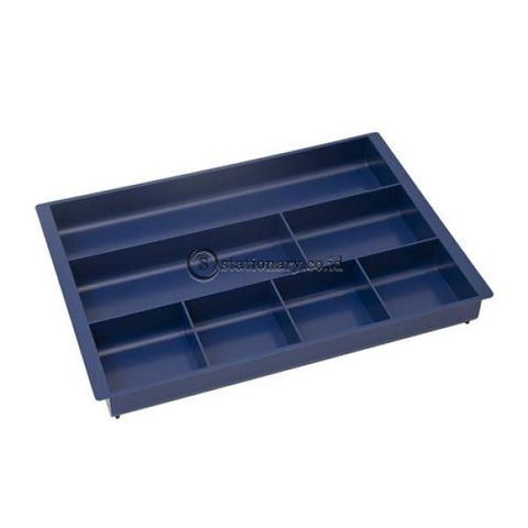 Bantex Drawer Organizer 7 Compartment #9842 Hitam - 10 Office Stationery Promosi