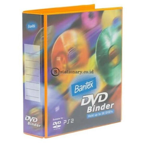 Bantex Dvd Binder 2 Ring 40Mm (Including 5 Sheets Pockets) #8541 65 Office Stationery It Supplies