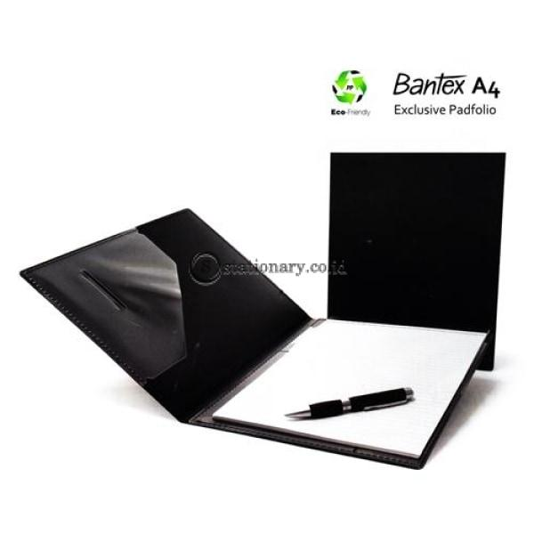 Bantex Exclusive Padfolio A4 Black #8817 10 Office Stationery