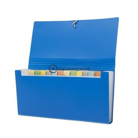 Bantex Expanding File Cheque (12 Pockets) #8811 Black - 10 Office Stationery