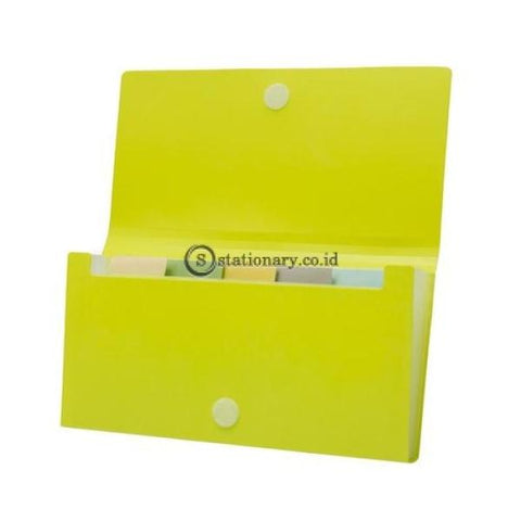 Bantex Expanding File Cheque (6 Pockets) #8810 Black - 10 Office Stationery