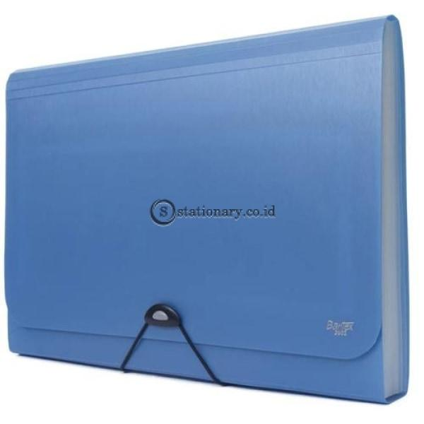Bantex Expanding File With Zipper Pocket Folio #3602 Office Stationery