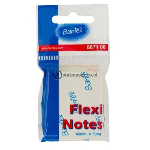 Bantex Flexi Notes 40 X 50Mm 100 Sheets #8871 00 Office Stationery