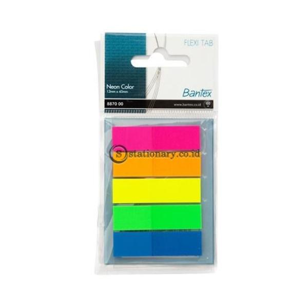 Bantex Flexi Tab 5 Neon Colour #8870 00 Office Stationery Promosi