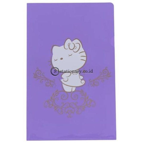 Bantex Folder Hello Kitty Folio #2245A26Hk Lemon - 26 Office Stationery