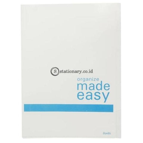 Bantex Index L Folder (5 Dividers) A4 #8879 Cobalt Blue - 11 Office Stationery