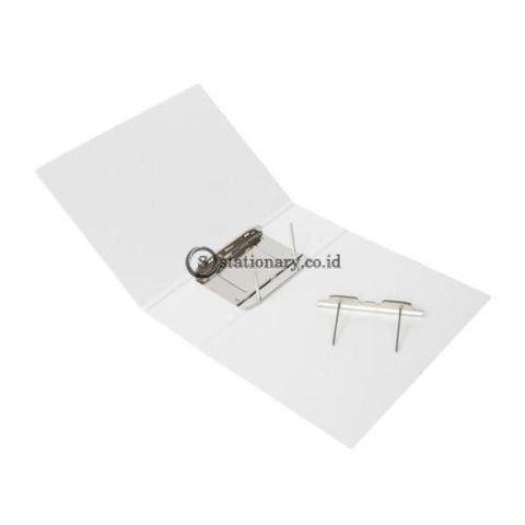 Bantex Insert Post Pipe Binder 2 Ring 10Cm A4 White #1311 07 Office Stationery