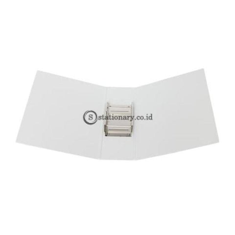 Bantex Insert Post Pipe Binder 2 Ring 8Cm A4 White #1391 07 Office Stationery