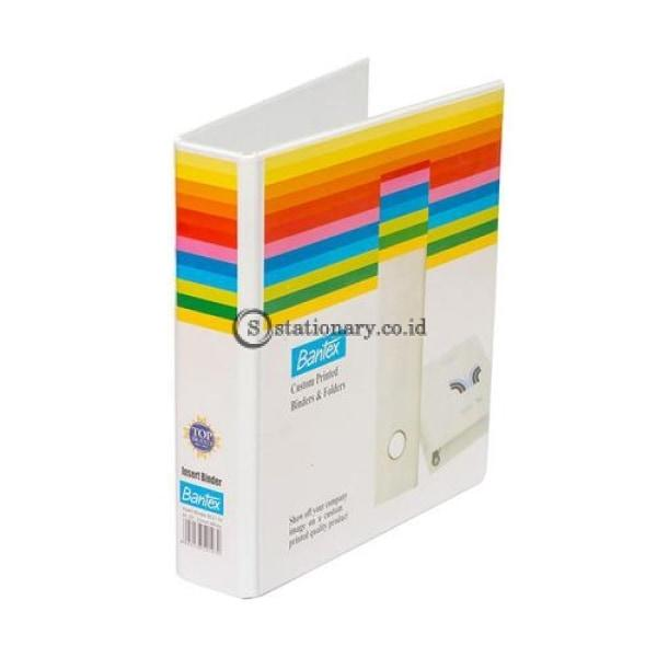 Bantex Insert Ring Binder 2 25Mm A5 White #8521 07 Office Stationery