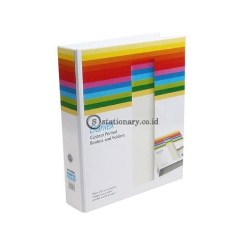 Bantex Insert Ring Binder 2 40Mm A4 White #8542 07 Office Stationery