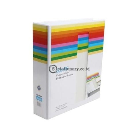 Bantex Insert Ring Binder 2 52Mm A4 White #8552 07 Office Stationery