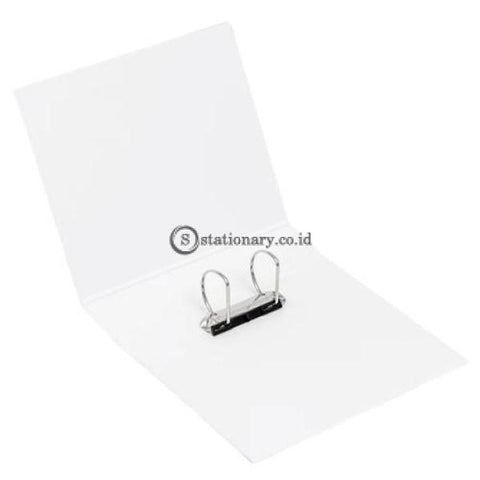 Bantex Insert Ring Binder 2 65Mm Folio White #8563 07 Office Stationery