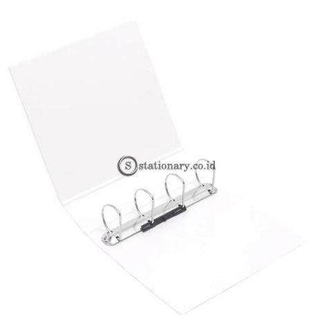 Bantex Insert Ring Binder 4 65Mm A4 White #8762 07 Office Stationery