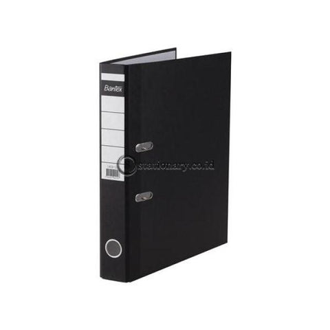 Bantex Lever Arch File Ordner Economic Folio 5Cm Black #1402 10 Office Stationery