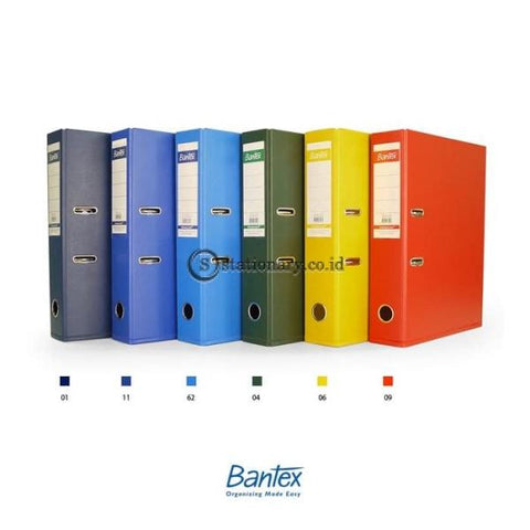 Bantex Lever Arch File Ordner Folio 5Cm Plastic #1466V Office Stationery