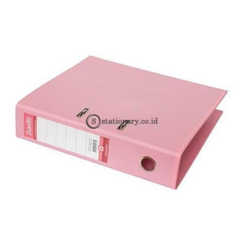 Bantex Lever Arch File Ordner Plastic A4 7Cm Musky Pink #1450 74 Office Stationery