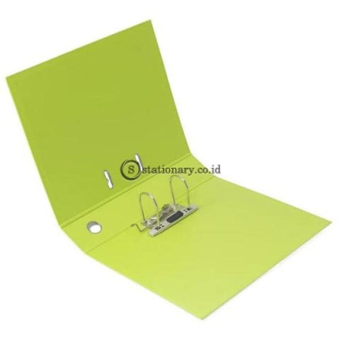 Bantex Lever Arch File Ordner Plastic Folio 7Cm #1465 Grass Green - 15 Office Stationery Promosi
