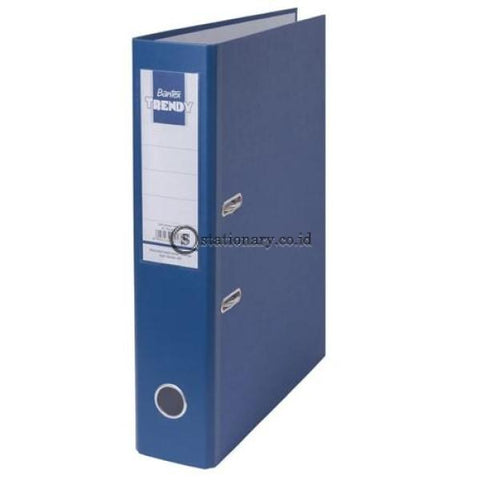Bantex Lever Arch File Ordner Trendy Folio 7Cm #1446 Hitam - 10 Office Stationery