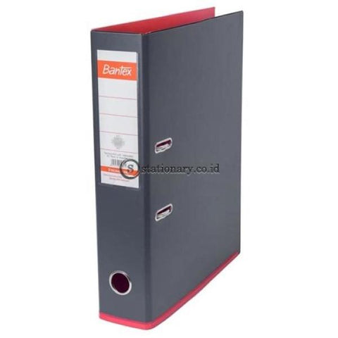 Bantex Lever Arch File Ordner Two Tone Folio 7Cm Anthracite Grey Melon #1465V2563 Office Stationery
