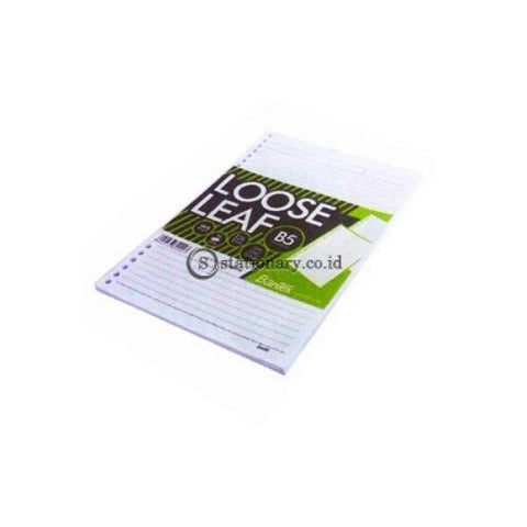 Bantex Loose Leaf Paper B5 80 Gsm 50 Sheets - 26 Holes #8600 00 Office Stationery