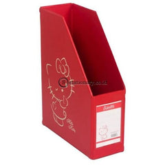 Bantex Magazine File (Box File) Hello Kitty 10Cm Folio #4011A26Hk Lemon - 26 Office Stationery