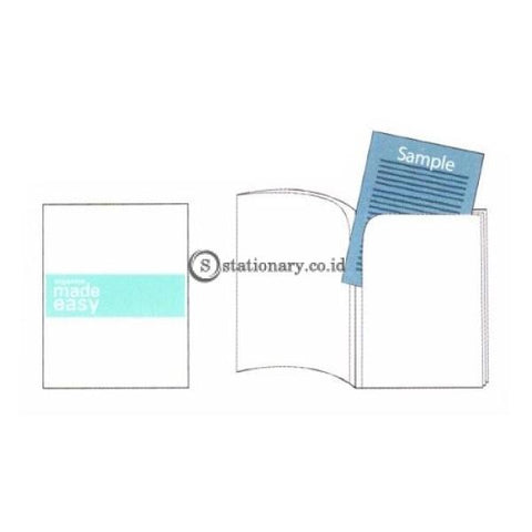 Bantex Multi L Folder (6 In 1 Folder) A4 #8878 Cobalt Blue - 11 Office Stationery