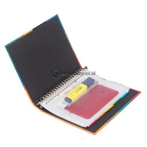Bantex Multiholes Zipper Pocket 20 Holes A5 #8072 08 Office Stationery