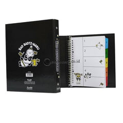 Bantex Multiring Binder 20 Ring 25Mm A5 Bad Badtz Maru Xo Gorgeous Birthday Hitam #1329 Office