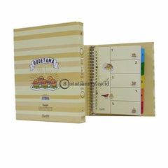 Bantex Multiring Binder 20 Ring 25Mm A5 Gudetama Hawaii #1329 Office Stationery