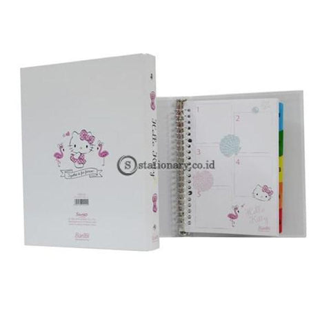 Bantex Multiring Binder 20 Ring 25Mm A5 Hk Summer Shell #1329 Office Stationery