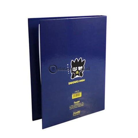 Bantex Multiring Binder 26 Ring 25Mm B5 Bad Badtz Maru Blue #1328 Office Stationery