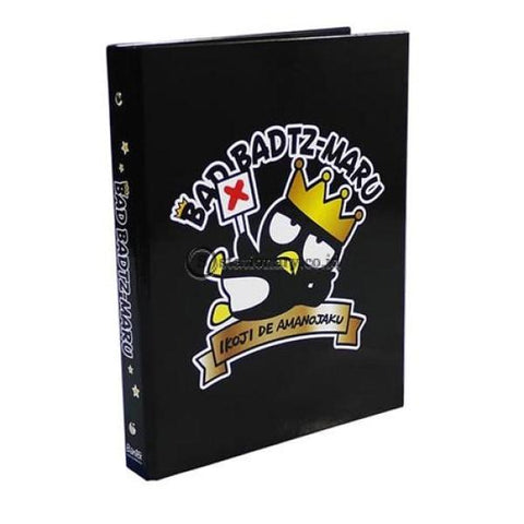 Bantex Multiring Binder 26 Ring 25Mm B5 Bad Badtz Maru Hitam Xo Gorgeous Birthday #1328 Office