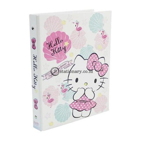Bantex Multiring Binder 26 Ring 25Mm B5 Hello Kitty Summer Shell #1328 Office Stationery