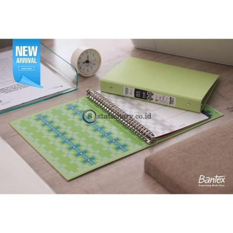 Bantex Multiring Binder Batik Series Pistachio B5 26 Ring O 25mm #1336 72