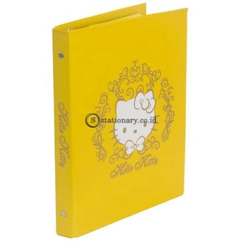 Bantex Multiring Binder Hello Kitty 20 Ring 25Mm A5 #1324A26Hk Lemon - 26 Office Stationery Promosi