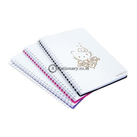 Bantex Notebook Hello Kitty A6 (80 Sheets) Lilac #8021A21Hk Office Stationery