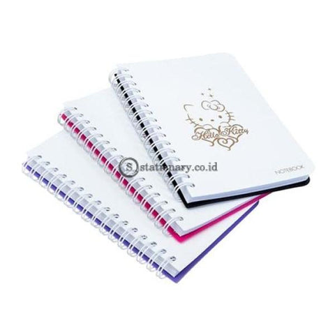 Bantex Notebook Hello Kitty A6+ (80 Sheets) Lilac #8022A21Hk Office Stationery