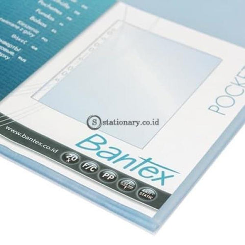Bantex Plastik Pocket Clear 0.08mm thickness A4 (20 Sheets) #2046