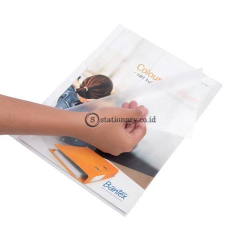 Bantex Pocket A4 0,09mm With Side &Top Opening (10 sheets)#2023 08