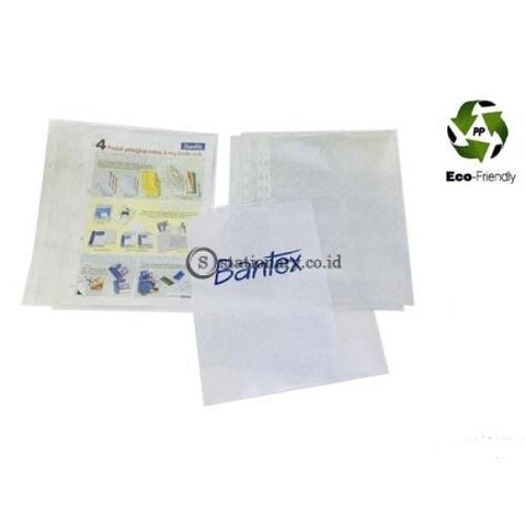 Bantex Pocket With Side Opening A4 0 08Mm Antiglare 10 Sheets #2022 Office Stationery