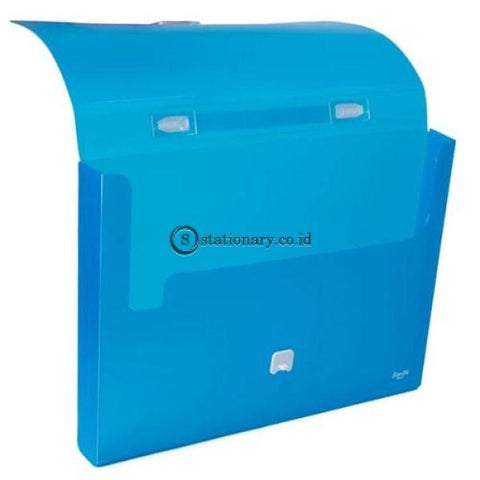 Bantex Portable Case With Handle Folio #3611 Grass Green - 15 Office Stationery Promosi
