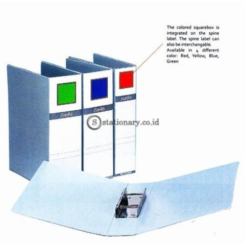 Bantex Post Pipe Binder 2 Ring 6Cm Folio #1362 Office Stationery