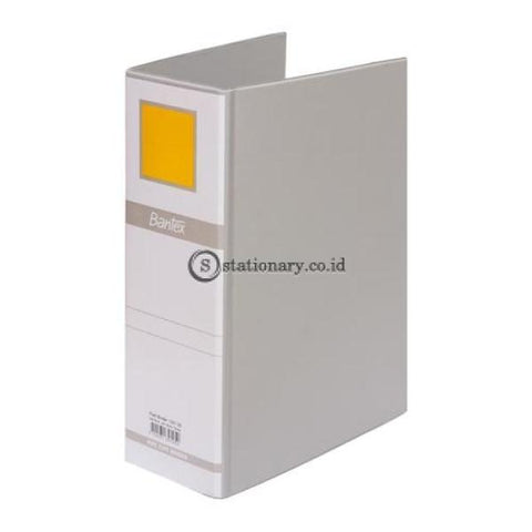 Bantex Post Pipe Binder 2 Ring 8Cm A4 #1391 Grey - 05 Office Stationery