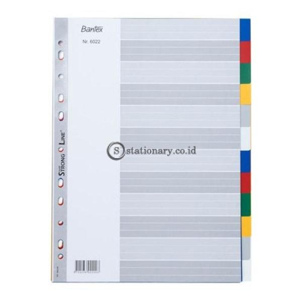 Bantex Pp Colour Divider A4 (12 Pages) #6022 Office Stationery