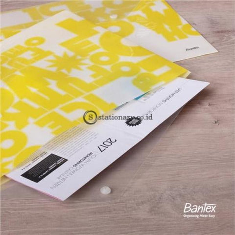 Bantex Pp Jolly Bright Envelope Folio #3236 Office Stationery